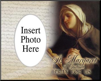 St. Margaret of Cortona Photo Frame