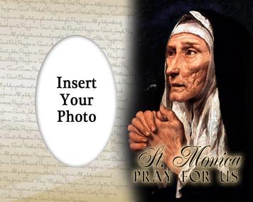 St. Monica Photo Frame