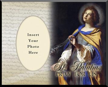 St. Palatias Photo Frame