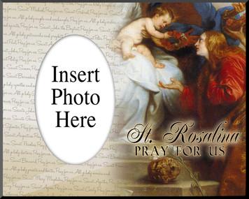 St. Rosalina Photo Frame