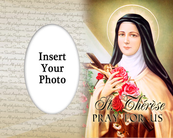 St. Therese Photo Frame