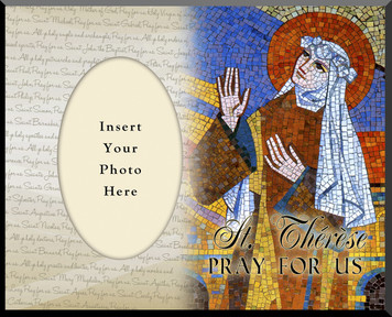 St. Therese Photo Frame 3