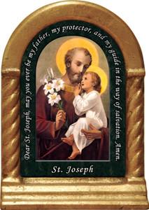 St. Joseph (Younger) Prayer Desk Shrine