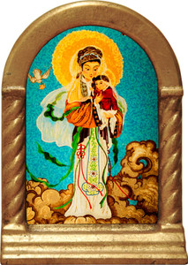 Our Lady of China Desk Shrine