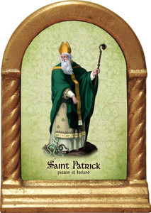 St. Patrick Desk Shrine