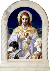 Bread of Angels Desk Shrine