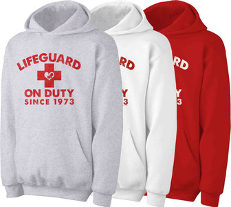 Lifeguard on Duty Since 1973 Hoodie