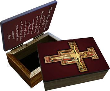 San Damiano Keepsake Box