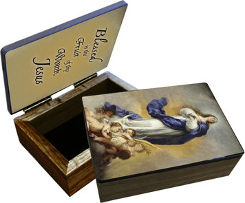 Immaculate Conception Keepsake Box