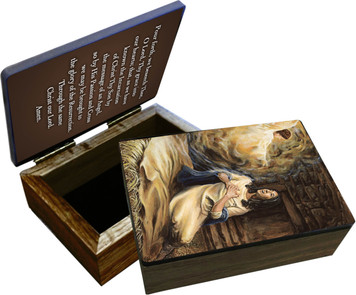 Annunciation Keepsake Box
