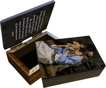 Holy Family II Keepsake Box