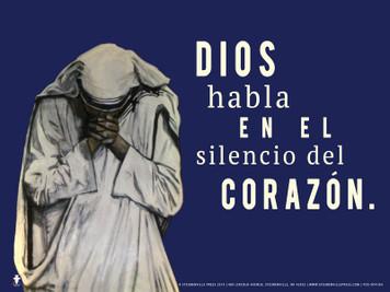 Spanish God Speaks Poster I