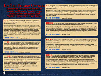 Spanish The Seven Capital Sins Explained Poster