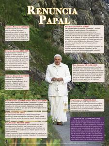 Spanish Papal Resignation Explained Poster