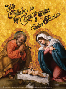 Spanish Nativity Poster