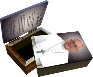 Pope Francis Formal Keepsake Box