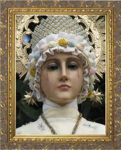 Our Lady of La Salette - Gold Framed Art