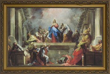 Coming of the Holy Spirit Framed Art