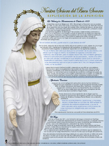 Spanish Our Lady of Good Help Apparition Explained Poster
