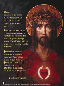Spanish Prayer of Abandonment Poster