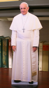 "Pope Francis 18"" Mini Standee"