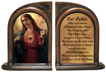 Sacred Heart Bookends