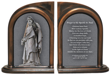 St. Paul Statue Bookends