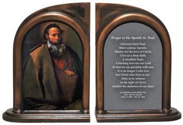St. Paul by Velazquez Bookends
