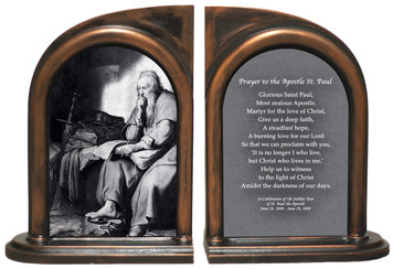 St. Paul in Prison Bookends