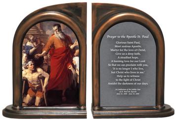 St. Paul Heals the Cripple Bookends