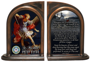 St. Michael Coast Guard Bookends