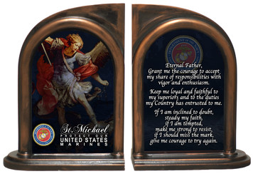 St. Michael Marine II Bookends