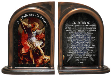 St. Michael Police Bookends