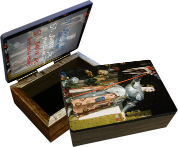 St. Joan of Arc Keepsake Box