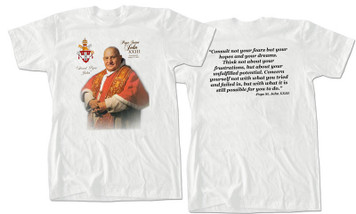 Pope Saint John XXIII Value Graphic T-Shirt
