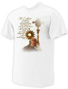 Pope Francis Eucharistic Prayer T-Shirt