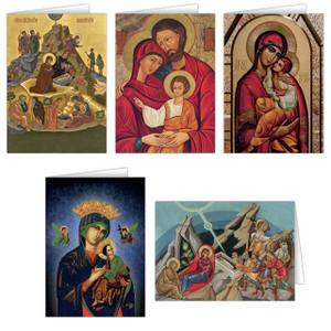 Icon Christmas Card Set (25 Cards)