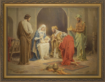 Chambers' Nativity Framed Art