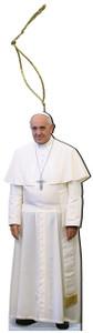 Pope Francis Wood Ornament
