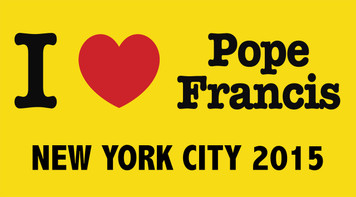 I Love Pope Francis New York City 2015  Bumper Sticker