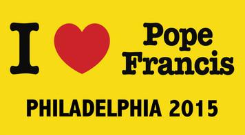I Love Pope Francis Philadelphia 2015  Bumper Sticker
