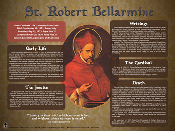 Saint Robert Bellarmine Explained Poster