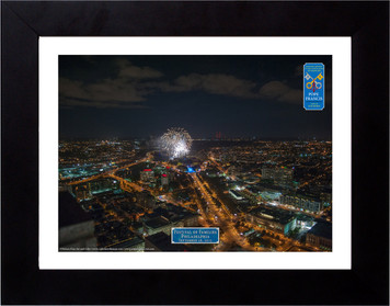 Festival of Families Fireworks Aerial Commemorative Photograph