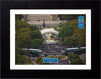 World Meeting of Families Papal Mass Close Up Aerial Commemorative Photograph