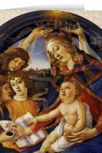 Madonna of the Magnificat Christmas Cards  (25 Cards)