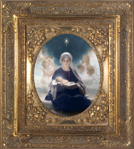 Star of Bethlehem Spandrel Framed Canvas 8x10