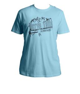 Verso L'Alto: Bl. Pier Giorgio Frassati Quote Light Blue T-Shirt