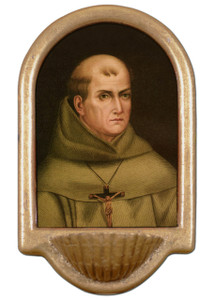 St. Junipero Serra Holy Water Font