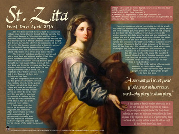 Saint Zita Explained Poster