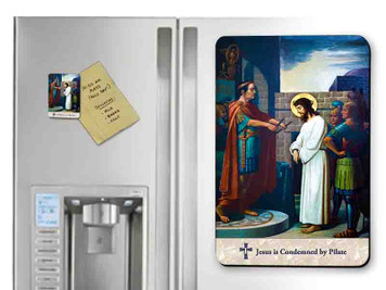 Emmerich Stations of the Cross (Full Set of 14 Pieces) Magnets